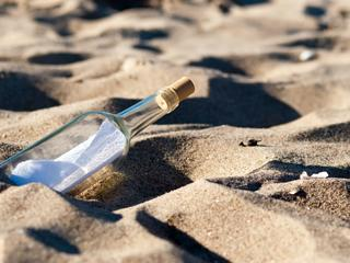 Sandspiel auf Lanzarote