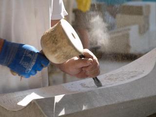 Steinbildhauen intensiv - Bildhauerkurs im Tessin