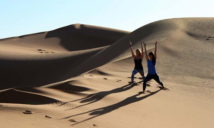 10 Tage Yoga Retreat in Marrakesch & in der marokkanischen Wüste