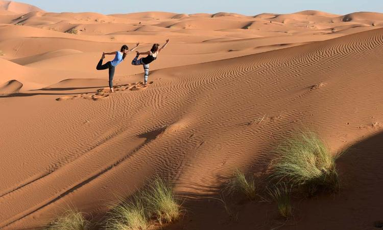 10 Tage Sahara Desert Yoga Retreat in Marokko