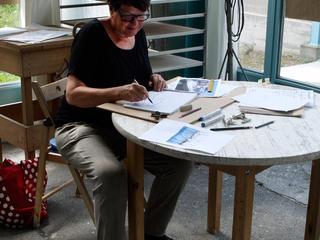Retreaturlaub bildhauerschule peccia scribbling eine zeichenwoche im tessin