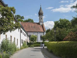 Abbau von Stress, Malen und Zeichnen im Kloster Bernried