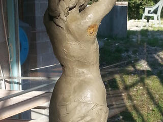 Figürliches Modellieren und Gipsabguss an der Tessiner Bildhauerschule Peccia