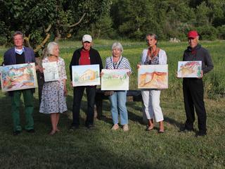 Retreaturlaub atelier brigitte orth eine woche malen und zeichnen in der provence vaucluse