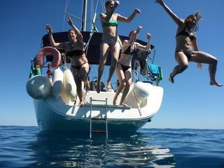 Retreaturlaub windbeutel reisen segeltoern sardinien eine woche costa smeralda