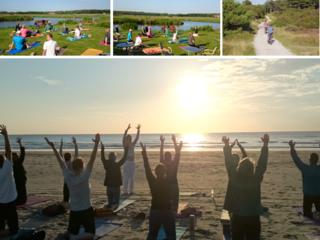 Yoga Wochenende am Meer