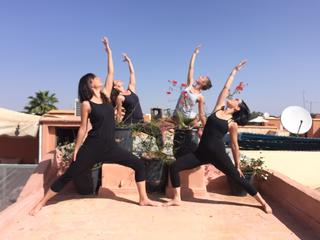 5 Tage Urban Marrakech Yoga Retreat in Marokko