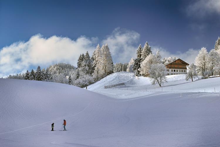Winterurlaub im Chiemgau mit Yoga & Langlaufen