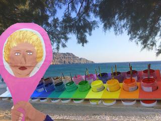 DAS BIN ICH...  ODER? Alte Muster hirngerecht lösen Maltherapie LOM® auf Kreta mit Katina Kalpakidou