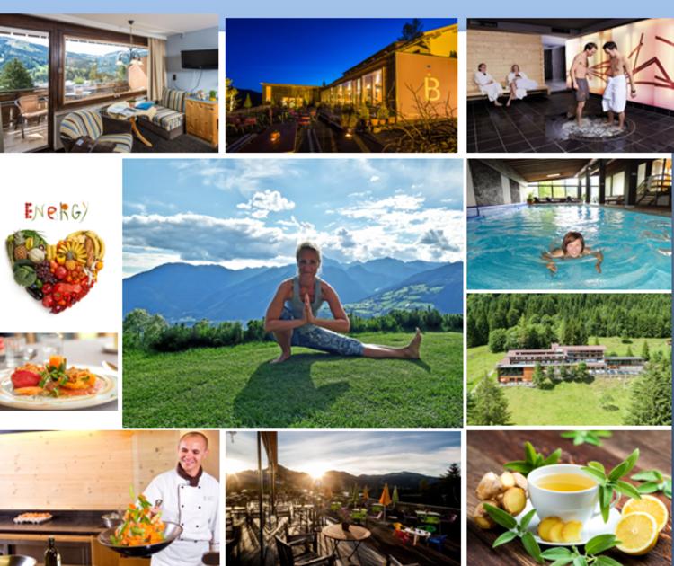 DETOX im BIO Berghotel mit Yoga, 5 Tibetern, Wandern & Wellness