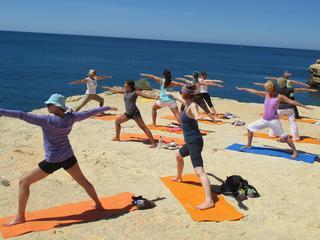 Yoga Sommer Retreat direkt am Meer
