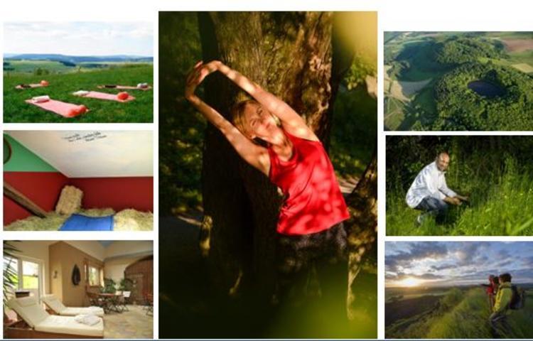 Motion, Releasing & Soul Yoga, Kräuter- und Maare Wanderung - die Leichtigkeit des Seins spüren
