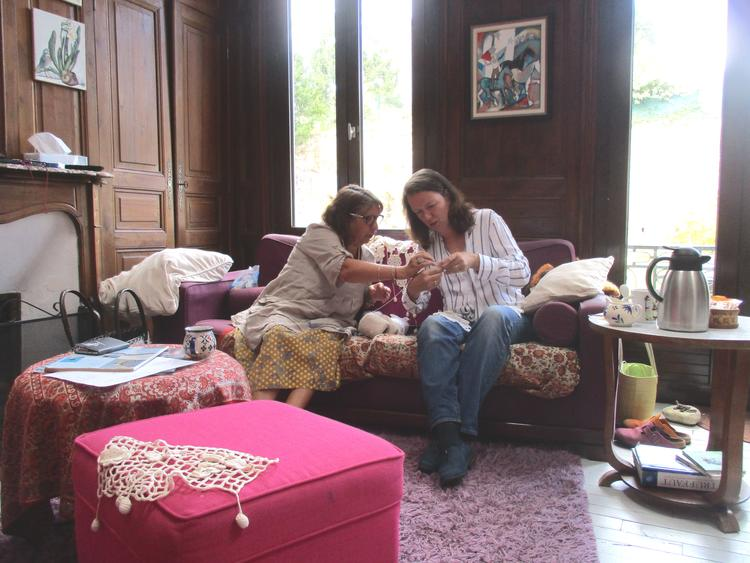 Retreaturlaub bei catie bretonisches haekeln