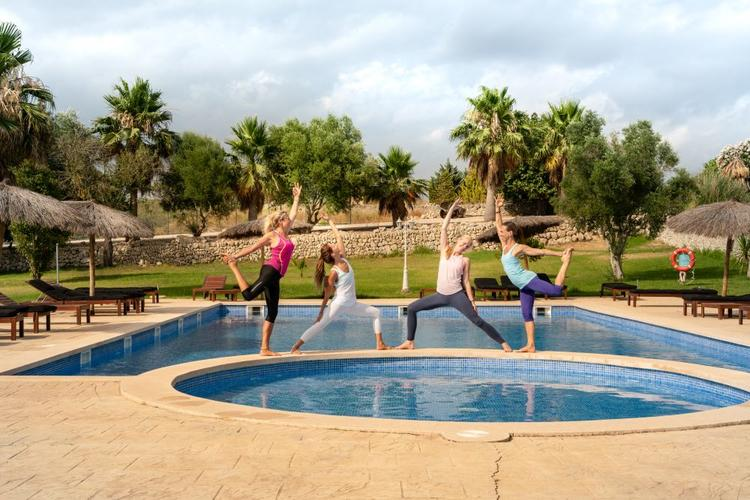 Iyengar Yoga Retreat auf Mallorca