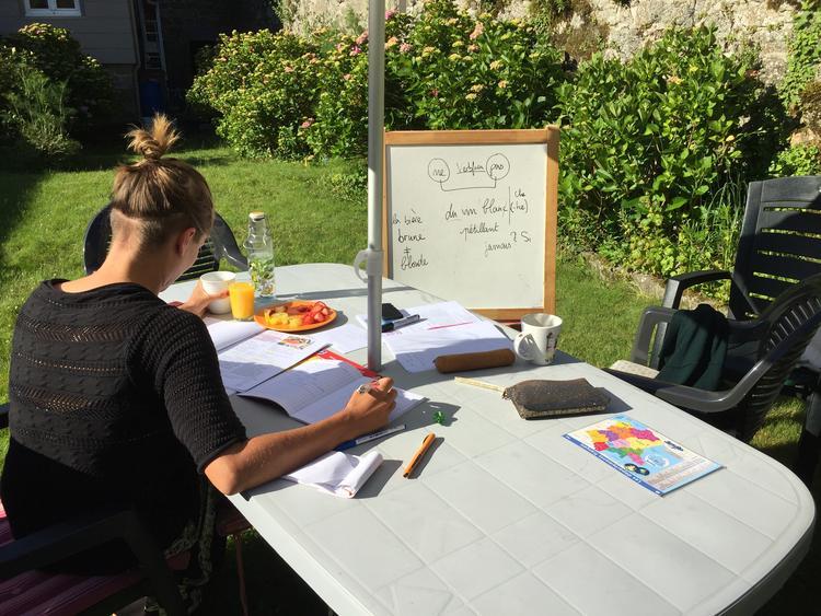 Retreaturlaub bei catie franzosischkurse a la carte in der bretagne