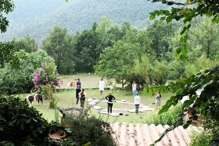 5 Tage · 5 Elemente Retreat Detox mit Yoga und Meditation in der Nähe von Barcelona