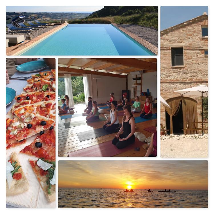 """Follow you inner peace"" Sommer Yoga Retreat in Italien"