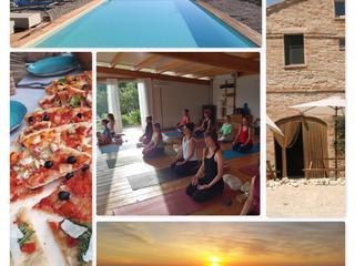 """Follow you inner peace"" Sommer Yoga Retreat in Italien"