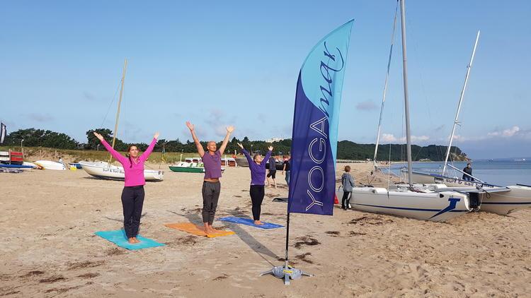 Yogawochenende im Strandhotel Baabe auf Rügen