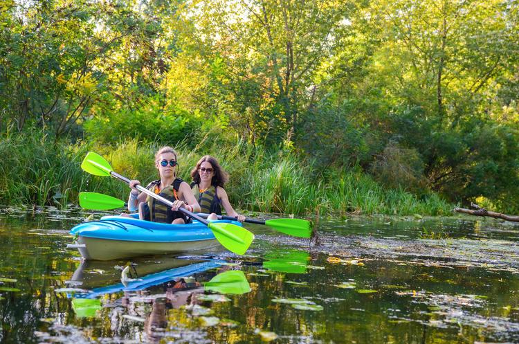 3 Tage Kajak, Kanu, Yoga: mit Achtsamkeit in die Natur, Biosphärenreservat Spreewald