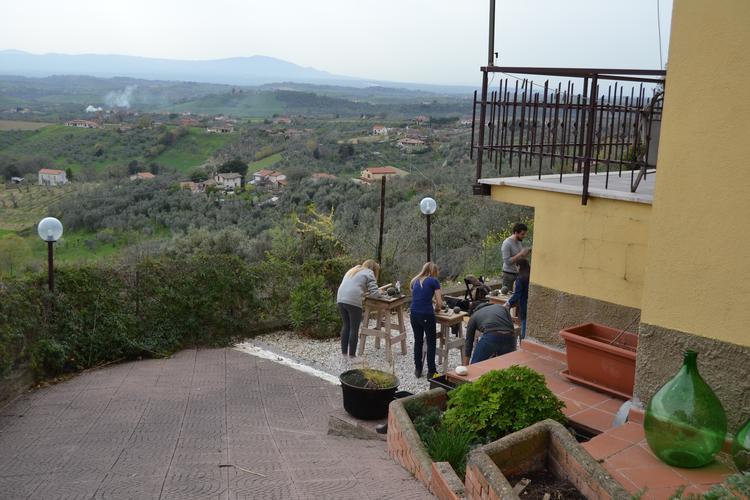 Kreativ Urlaub in Italien nördlich von Rom