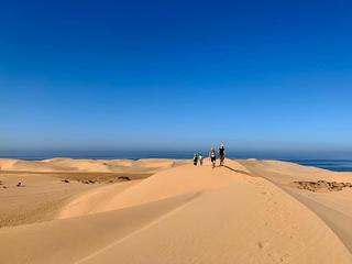 YOGA WANDER RETREAT mit Coaching - Küsten/WüstenWandern  - Yogahotel mit Meerblick!