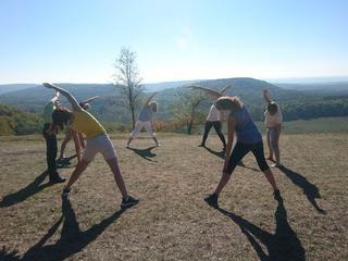 7 Tage Yoga und Wandern im Naturpark Stromberg (liegt zwischen Stuttgart, Heilbronn und Karlsruhe)