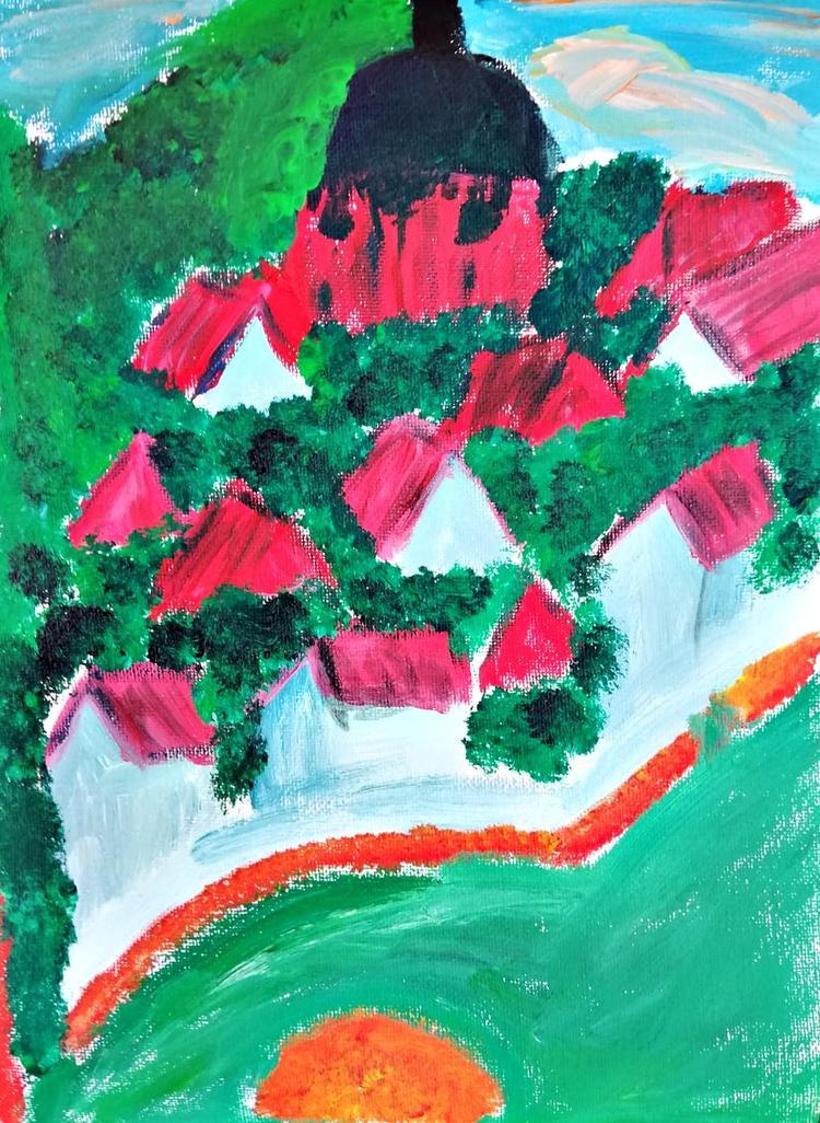 Retreaturlaub art and therapy inselmusen auf fehmarn meditieren malen seelenbaumeln