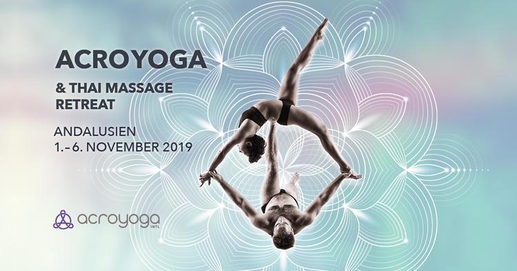 Lerne Fliegen! AcroYoga & Thai Yoga Massage Retreat in Andalusien, Spanien