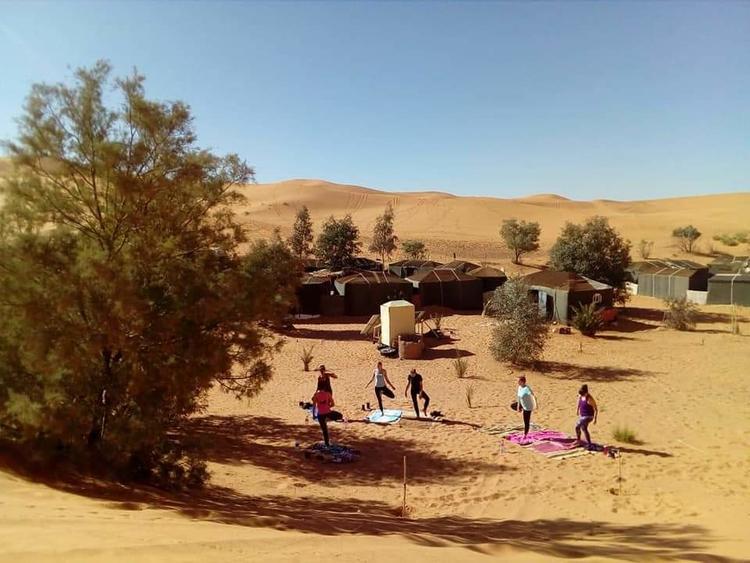 Retreaturlaub danielaholzer10 hotmail com yoga ayurveda meets desert trip 1001 nacht