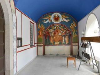 Abstand und Ruhe beim Malen und Zeichnen im Kloster Niederaltaich