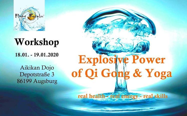 Retreaturlaub flowing principles explosive power of yoga qi gong