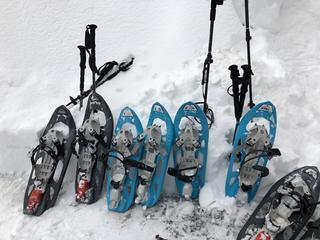 Yoga & Schneeschuhwandern in den Bergen