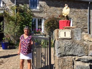 bretonisches Häkeln in Quintin, BRETAGNE