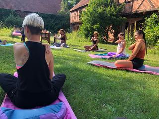 5 Elemente Fasten und Yoga Retreat an der mecklenburgischen Seenplatte