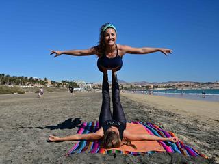 8 Tage Flying Yoga und Yin Yoga auf Fuerteventura, Spanien