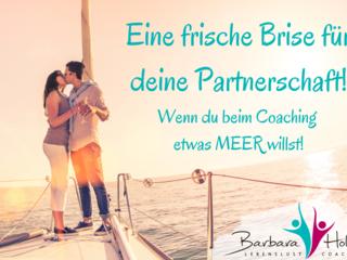 Coaching unter Segeln - wenn eure Partnerschaft eine frische Prise braucht!