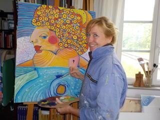 Abenteuer Malerei mit Yoga und Wanderungen
