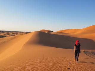 8 Tage Yoga-Nomaden Retreat mit Wüstenwanderung in der Sahara - Eine Reise zur inneren Stimme!