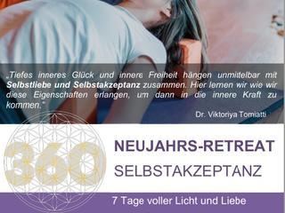 """NEUJAHRS-RETREAT """"SELBSTAKZEPTANZ"""": 7 Tage Yin Yoga und persönliche Entwicklung"""