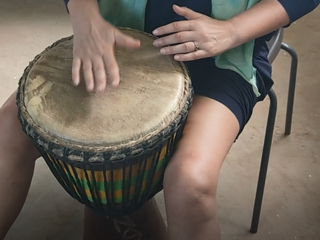 Djembe 1 Woche  intensiv Trommel-Workshop - get the african rhythm in Sanyang   Gambia   West Afrika