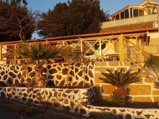 7 Tage Fasten Wandern Detox in Bio Finca auf Teneriffa mit Blick auf La Gomera