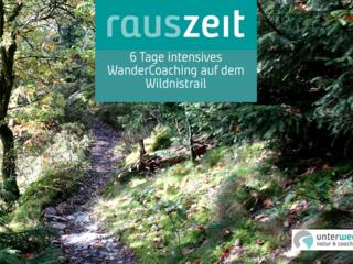 RausZeit - Intensiv WanderCoaching auf dem Wildnistrail