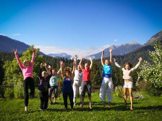Wo stehst Du? Wo willst Du hin? Yoga Retreat 4 Tage im Frühling. Einmalig.