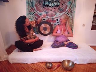 7 Tage Anahata Yoga mit Gong & Tibetischen Klangschalen , Om Shanti Yoga & Healing Südkreta,