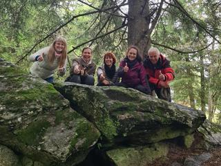 Heile dich selbst in der Natur in Eberstein