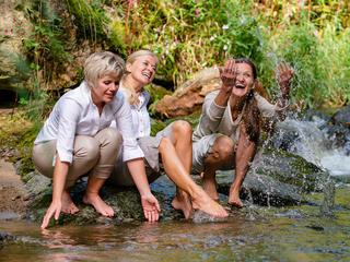 Lebensfreude mit Wasserkraft