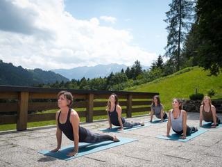 Pilates in den Bergen – die Kraft aus der Mitte