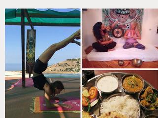 7 Tage kulinarisches  Yogaseminar  mit Gong & Tibetischen Klangschalen ,Südkreta,