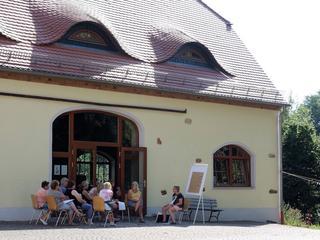 Malen und Zeichnen im Kloster Sornzig zwischen Leipzig und Dresden